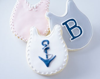 Baby Bib Cookie Collection