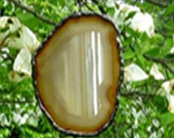 Agate and Jasper mobile for home and Zen Yoga Garden