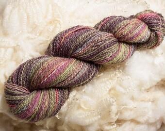 Dorset Down Hand Spun Yarn | Hand Dyed Yarn | 100% British Wool | Handspun Yarn