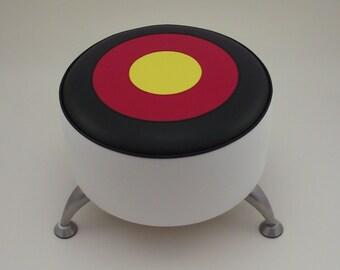 German Target footstool