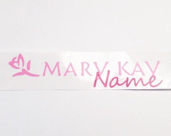 Mary Kay Decal with Optional Personalization