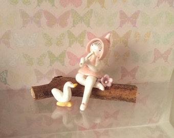 Polymer Fairy, Fairy, Fimo fairy, miniature fairy