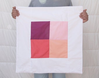 """Pink Hues 26""""x26"""" Quilt"""