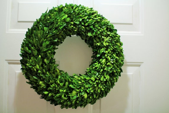 Spring Boxwood Wreath , Preserved Wreath , Mirror wreath ,Table Wreath , Mirror Wreath ,Round Boxwood , Spring Wreath ,Summer Wreath