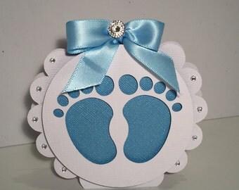 Baby shower invitation handmade