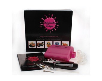 Dinky Doodle Airbrush Hot Pink