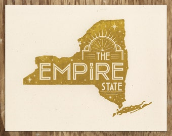The Empire State — New York Wall Art