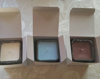hand poured 10oz soy wax candles