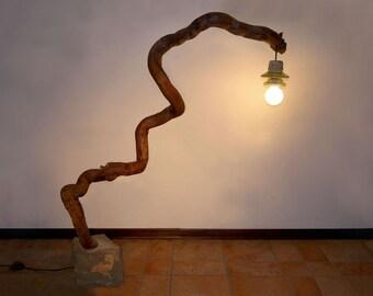 Floor lamp Legnoluce