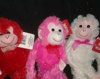 Valentines Day Plush Personalized Stuffem Animals