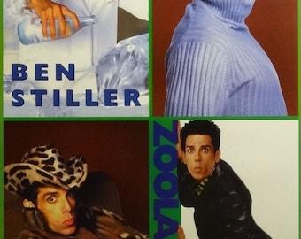 Zoolander 23x35 Character Art Movie Poster Ben Stiller