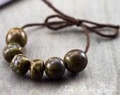Dainty Porcelain Bead Set-Ronnie's Beads