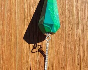 Malachite Point Pendulum