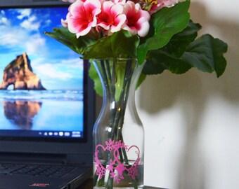 Double Love Vase
