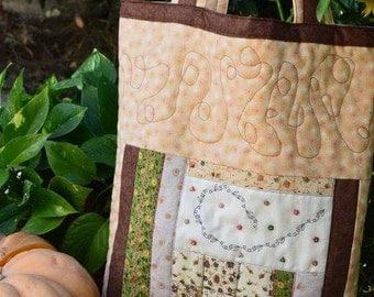 Autumn Bag patchwork quilt