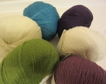 Apirka Sock Pattern with Six Balls for Palette Yarn by Knit Picks