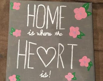 Home is where the Heart is - Painting