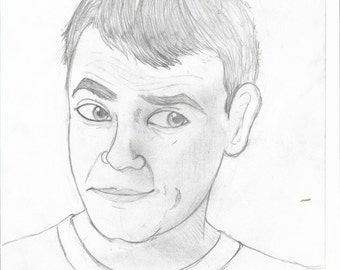 Scott Snyder Sketch Print 8 x 10