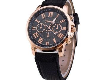 Classic style fashion wrist watch