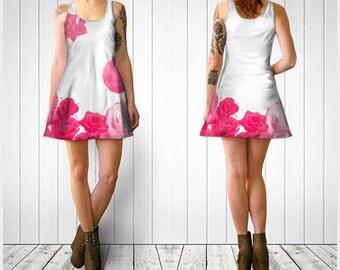 printed dress, summer dress, sun dress, women dress, trend dress, short dress