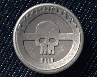 "21mm Change Button ""Citadel of Skull""  [Set of 1]"