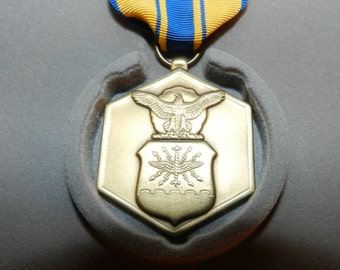 Military merit medal etsy for Air force decoration citation