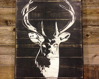 "Deer Art, Deer Decor, ""Bambi's Dad"""