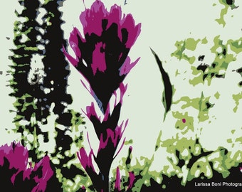 Photograph Art Print // Floral Abstract Wall Art