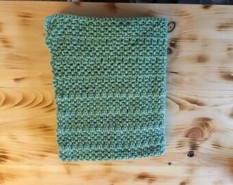 Cozy Green Baby Blanket-