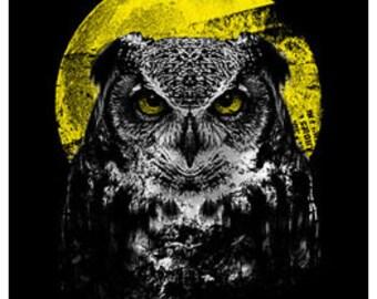 Night Owl T Shirt, Owl Shirt, Tee, T,T-Shirt