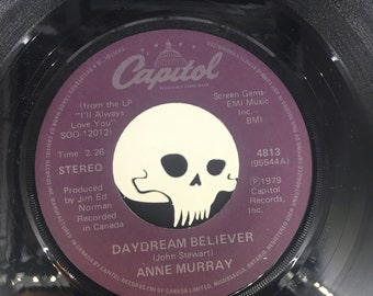 3 Pack! Vampire Skull 45 RPM adpater! 45 lp spacer, fourty five, single, record, cool, crazy, rare, unique