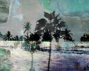 THE BEACH VIII by Sven Pfrommer - 150x50cm Artwork is ready to hang