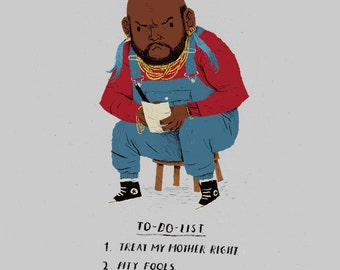 Mr T To-do-list