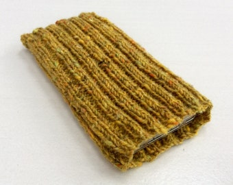 Knitted iPhone sock for 6 or 6S,  smartphone cover case