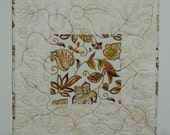 Candle Mat Quilted
