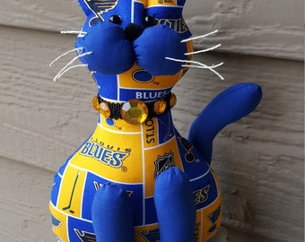 St. Louis Blues Hockey Cat