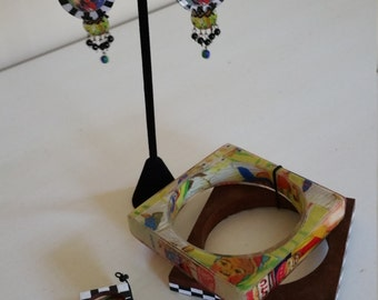 Les Nereides Earrings, Ring & Bangle Set