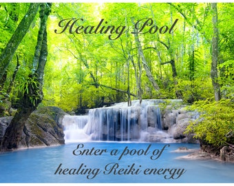Reiki Healing Pool Audio Guided Meditation