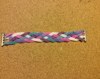 5 Strand Weaved Bracelet