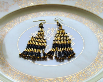 Art Deco style Pagode earrings