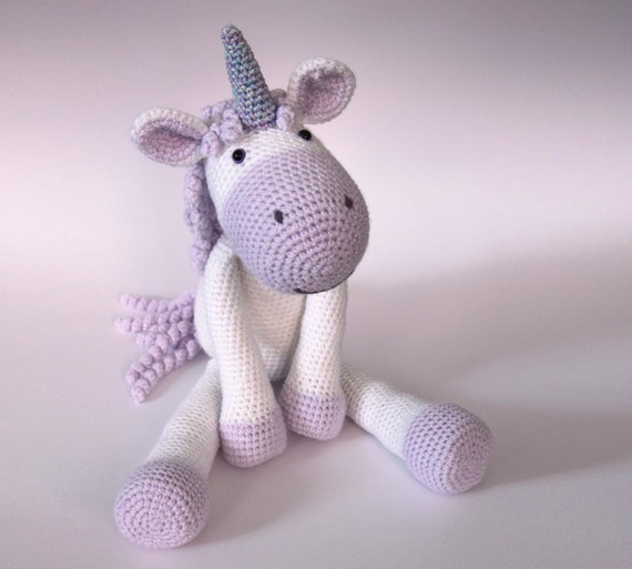Crochet Baby Unicorn Pattern : Calista the Unicorn Crochet Pattern PDF