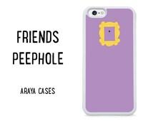 Friends Phone Case iPhone Peephole Fan Gift TV Show 90s Cover 6s 4 4s 5 5s 5c 6 plus SE Cover Samsung Galaxy S6 Case S5 S7 edge S4 Note