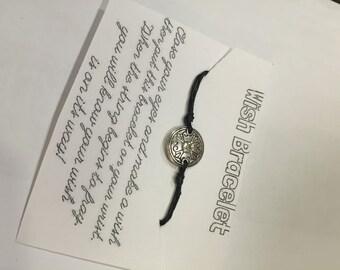 Small Rhinestone Wish Bracelet