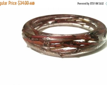 ON SALE for Limited time Red twig bangle