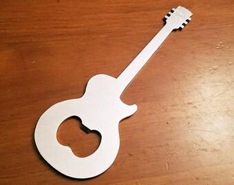 Gibson Les Paul Guitar Stainless Steel Bottle Opener