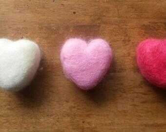 Little Heart Felted Soap