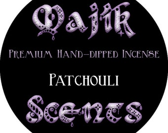 Hand dipped incense (Patchouli)