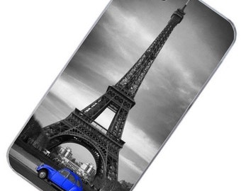 "Phone hull ""2cv Paris blue"""