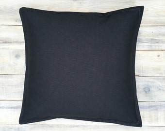 Black&White Pillow with Cotton Cover 40x40 cm