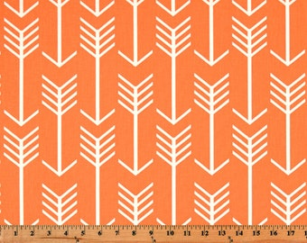 Home Decor Fabric Premier Prints Arrow Orange By the Yard Home Decorating Fabric Yardage